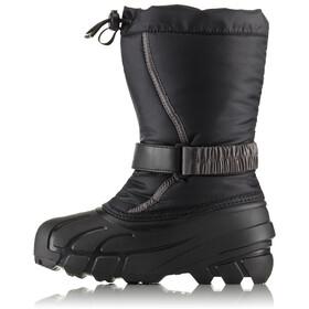 Sorel Flurry Boots Children Black/City Grey